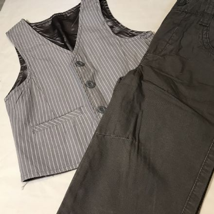12-18m Mothercare Trousers and Waistcoat